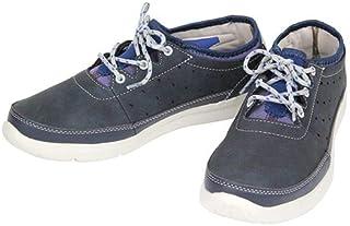 【安全靴】ヘルスニット 403 ネイビー 26.5cm カジュアルシューズ