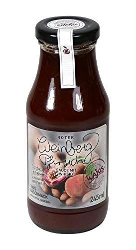 BBQ Sauce Roter Weinbergpfirsich Sauce mit Whisky 245ml