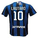 dnd d'andolfo Ciro Camiseta Fútbol Inter Lautaro Martinez 10 réplica autorizada 2019-2020 niño (tallas 6 8 10 12) Adulto (S M L XL), Neroazzurro, 12 años
