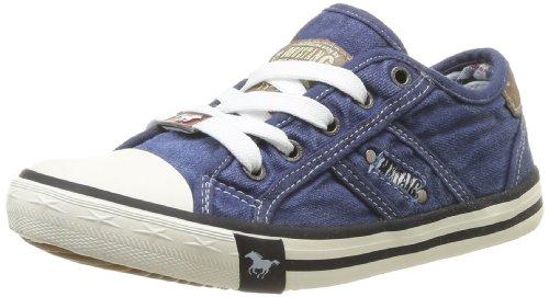 Mustang Unisex-Kinder 5803-305-841 Low-Top, Blau (841 jeansblau), 34 EU