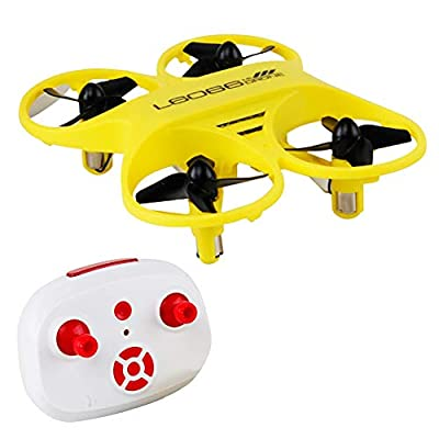 EARSOON Mini Drone Nano Quadcopter Indoor Small Helicopter Plane with Auto Hovering, Induction Mode of Gravity, 3D Flip, Headless Mode by Earsoon