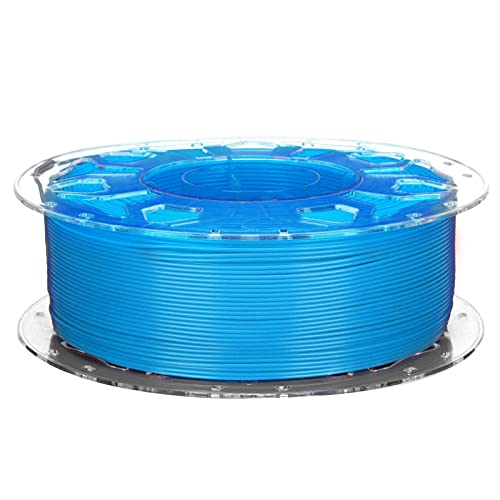 3D Printer PLA Filament, Low Shrinkage High Toughness 1.75mm Printing Supplies Accessories Compatible with All 3D Printers(Blue)