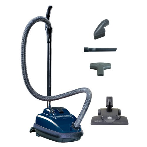 Sebo Vacuums 9679AM Airbelt K2 Kombi-Kanister, dunkelblau – mit Kabel
