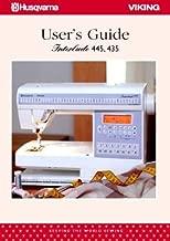 Husqvarna Viking Interlude 435, 445 Sewing Machine User's Guide COLOR Comb-Bound Copy Reprint Of Manual