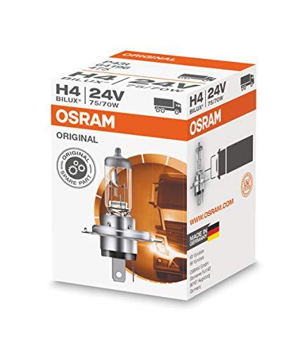 Osram ORIGINAL H4, 64196, 24V, 1er Faltschachtel