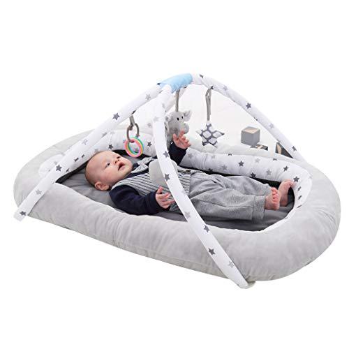 vocheer Baby Hangmat Baby Bassinet voor Bed Baby Lounger Bed Bassinet voor pasgeboren baby draagbare wieg, Geschikt voor 0-8 Maanden