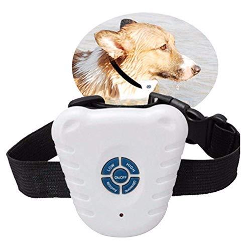 WYJW Dog Collar Small Dog Bark Collar Universal Ultrasonic Pet Dog Accessories Anti Bark No Barking Electric Shock Vibration Pet Dog Training Collar Stopper