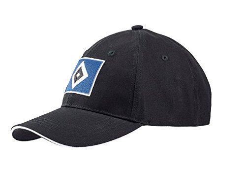 HAMBURGER SV HSV CAP RAUTE SCHWARZ