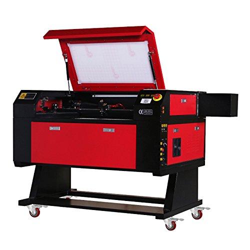 OrangeA Láser Grabado Para Máquina CO2 80W de Grabado Máquina 700x500 mm Tubo del Láser de Nuevo Sistema de Grabado por Láser Máquina Laser Engraving Machine(80W)