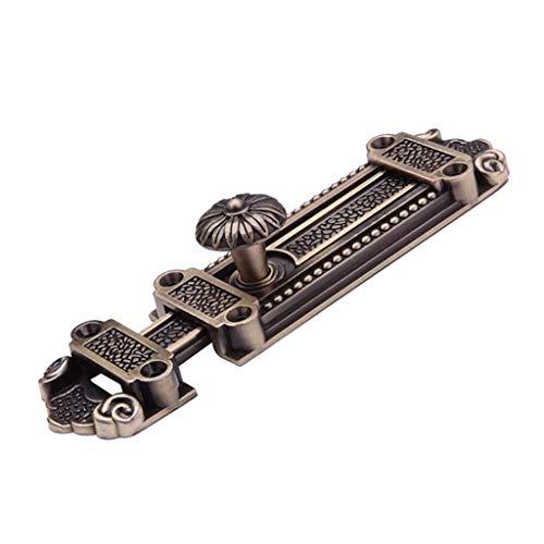 Antike Türriegel Schiebetür Riegel Bolzenriegel Schubriegel Riegelverschluss Torverschluss - Grüne Bronze
