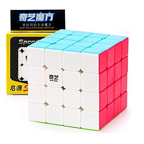 CuberSpeed QiYi Qiyuan S 4x4 Stickerless Bright Magic Cube QiYi QiYuan S V2 4x4 MoFangGe MFG Qiyuan S2 Color 4X4X4 Speed Cube