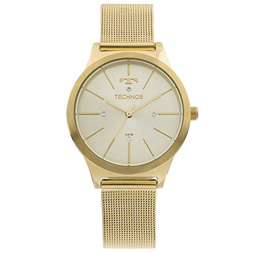 Relógio Feminino Technos Analógico 2039BD/4D Dourado