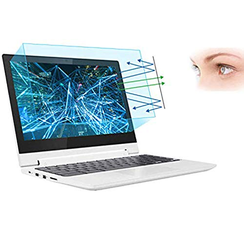2 Pack 11.6″ Laptop Screen Protector -Blue Light Filter, Eye Protection Blue Light Blocking Anti Glare Screen Protector for All 11.6″ 16:9 Laptop (!!!Not Include The Screen Bezel)