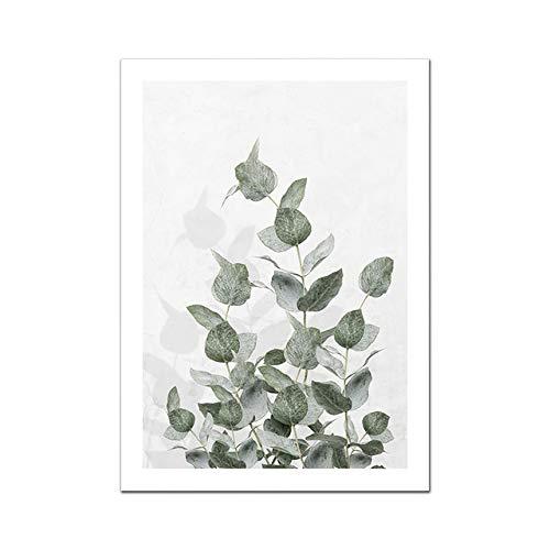 Nordische Figur Poster Blumen Leinwand Malerei Zitat Wandkunst Bilder für Wohnzimmer Modern Home Dekorative Drucke an der Wand Bild 2 60x80cm No Frame