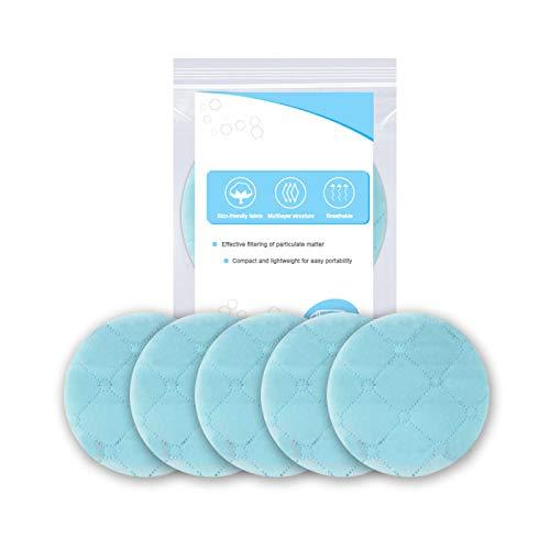 KEKEDA 5 Stks Huidvriendelijk Maskerpakking Verwijderbare 3-laags Maskers Pakket, Veiligheid Anti-Stof Ademend Verwijderbaar Mond Gezichtsmasker