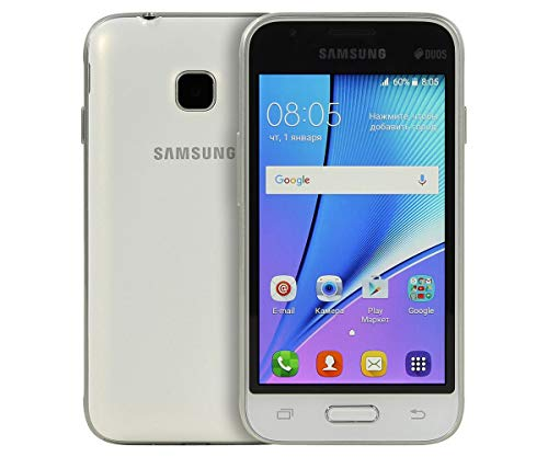 "Samsung Galaxy J1 Mini Prime (2016) SM-J106F 4"" 4G 1GB 8GB 1500mAh Oro - Smartphone (10,2 cm (4""), 1 GB, 8 GB, 5 MP, Android, Blanco)- Versión Extranjera"