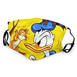 Donald Duck Fotografieren Mundschutz Anti-Staub Waschbar Wiederverwendbarer Mundschutz Modedesign für Kinder Jungen Mädchen Teenager