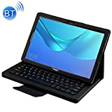 YINZHI Tablet PC Accessories Detachable Bluetooth Keyboard + Litchi Texture Horizontal Flip Leather Case for Huawei MediaPad M5 Pro / M5 10.8 inch, with Holder(Black) (Color : Black)