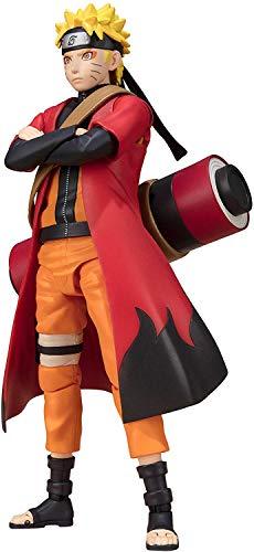 TAMASHII NATIONS Bandai S.H. Figuarts Naruto Uzumaki Sage Mode (Advanced Mode) Naruto: Shippuden Action Figure