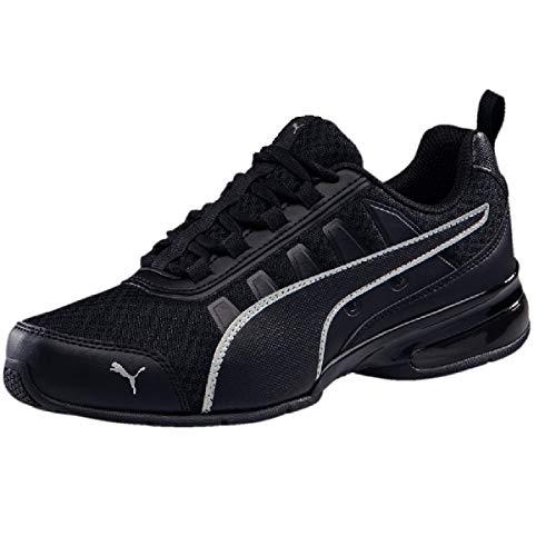 PUMA Unisex-Erwachsene Leader Vt Mesh Sneaker, Schwarz (Puma Black-Puma Silver 7), 44.5 EU (10 UK)