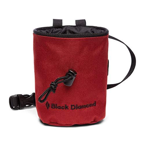 Black Diamond Mojo Chalk Bag Bolsas de magnesio para Escalada, Unisex-Adult, Dark Crimson, Medium/Large