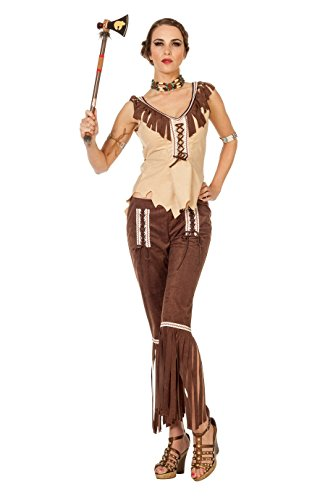 Wilbers 4316 Indianerin Cherokee Kostüm Damen Indianer Damenkostüm 42