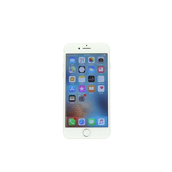 Apple iPhone 8, 64GB, Silver - Fully Unlocked (Renewed) Front Screen Display