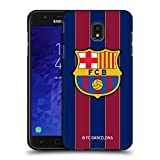 Head Case Designs Officiel FC Barcelona Home 2020/21 Crête Kit Coque Noir en Gel Doux Compatible...