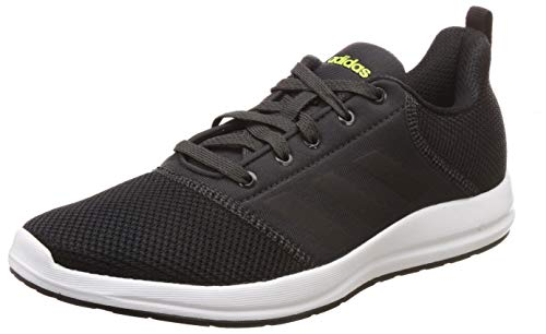 7. Adidas Men's CYBERG 1.0 M Carbon/SSLIME/CBLACK Running Shoes