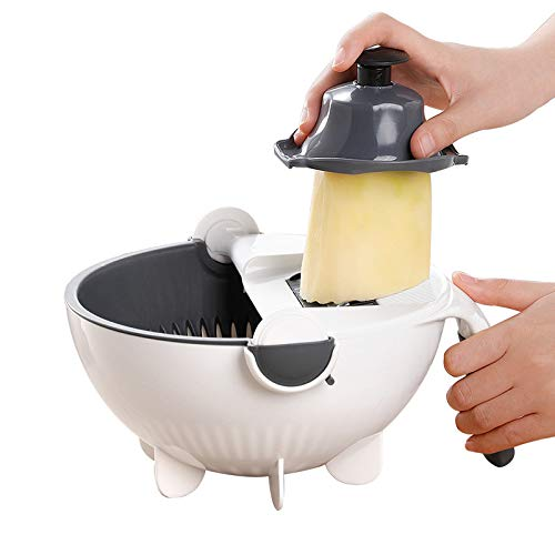 Multifunktionaler Gemüseschredder Kartoffelschredder Küche Haushaltshandbuch geschredderte Rettichreibe Waschen Gemüsekorbschneider