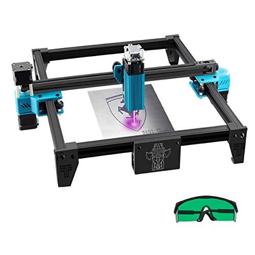 Tresbro Totem Engraving Machine Frame, DIY 5.5W Fast High Precision Cut Engraver Printer Cutter for Wood, Metal, Stainless Steel