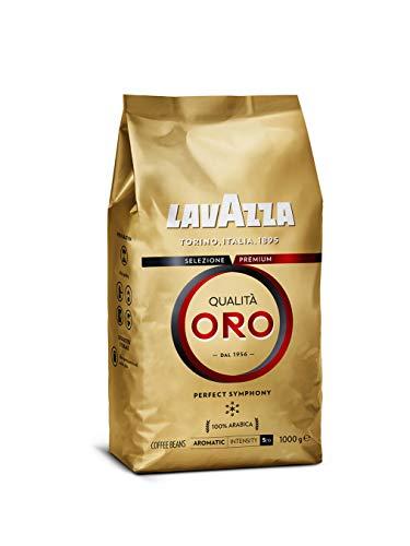 Lavazza Qualità Oro, 100% Arabica, Medium Roast Coffee Beans, Pack of 1kg