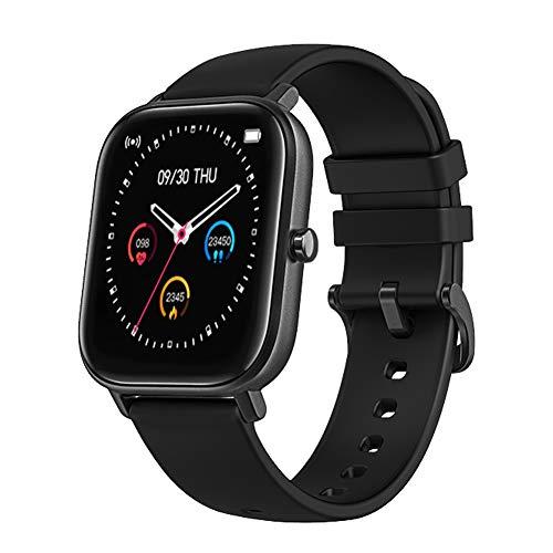 Dccioriu Smart Horloge Hartslagmeting Fitness Tracker met Slaap Monitoring Stappenteller Weersverwachting Sport Horloge voor Vrouwen & Mannen Compatibel met Android en iOS
