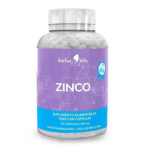 Zinco. 120 cápsulas vegetais - Natusvita