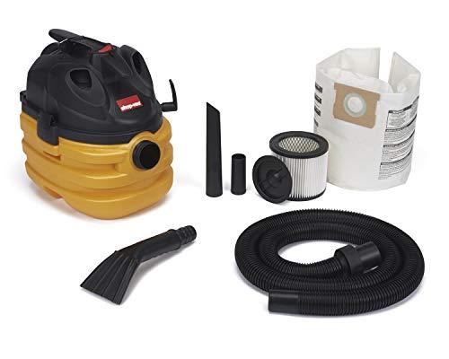 Shop-Vac 5872800 5 gallon 6.0 Peak HP Portable Heavy Duty Wet & Dry Vaccum, Yellow/Black