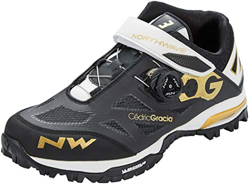Northwave Enduro Mid MTB 2021 - Zapatillas de ciclismo, color negro y blanco, color Negro, talla 40 EU