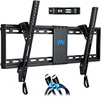"Mounting Dream UL Listed TV Mount for Most 37-70 Inches TVs, Universal Tilt TV Wall Mount Fits 16"", 18"", 24"" Studs with..."