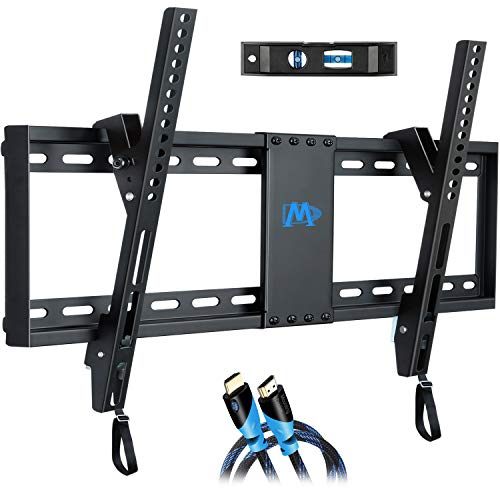 Mounting Dream Tilt TV Wall Mount Bracket for Most 37-70 Inches TVs, TV Mount with VESA up to 600x400mm, Fits 16