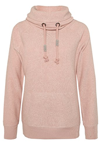 Sublevel Damen D1044N01745A Sweatshirt, Rosa (White-Shadow Rose 13200), 38 (Herstellergröße: M)