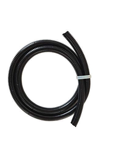 1m Wellrohr Wellschlauch schwarz 12x16 Polyamid