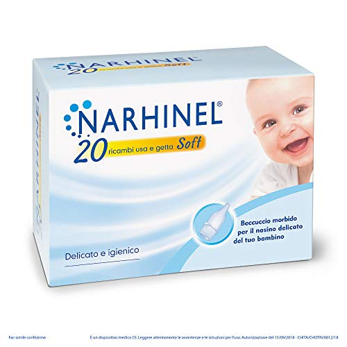 Narhinel Ricambi Usa e Getta Soft - Pacco da 20 X 100 Gr