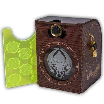 ADC Blackfire Entertainment 91769 Blackfire Wooden-Holz Design-Deck Case-Box-Cthulhu