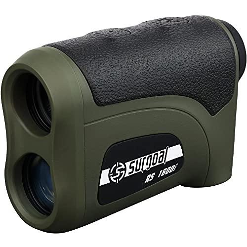 Surgoal HD Golf and Hunting Rangefinder 1600 Yards Long Distance Laser Range Finder_All Purposes
