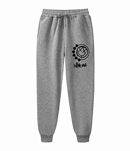 AILIBOTE Blink-182 Unisex Graphic Fashion Fleece Gym Jogger para hombre y mujer