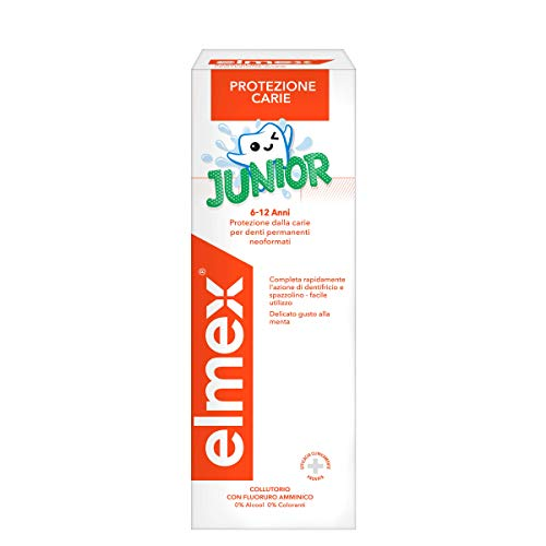 Elmex Collutorio Junior 6-12 Anni, 400ml