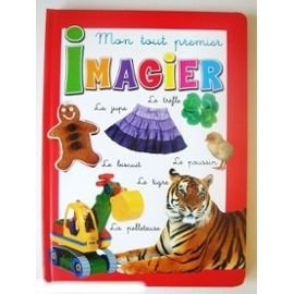 Paperback Mon Tout Premier Imagier (Rouge) Book