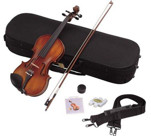 Hallstatt ハルシュタット 初心者用ヴァイオリンセット V-22 4/4サイズバイオリン (通常サイズ)