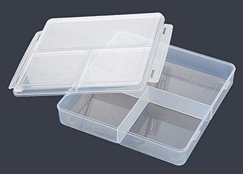 CAOLATOR Boîtes Alimentaires/Plats à Four en avec couvercles hermétiques Micro-Ondes Cuiseur à Riz Plastique(21.5 * 21.5 * 4.5)