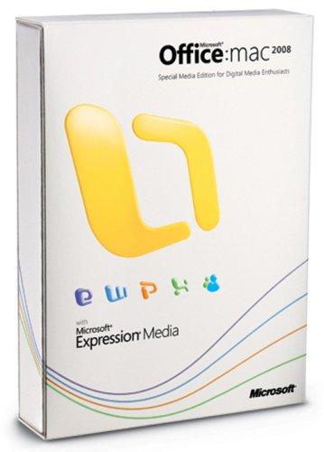 Microsoft Office Media Edition 2008 english Mac