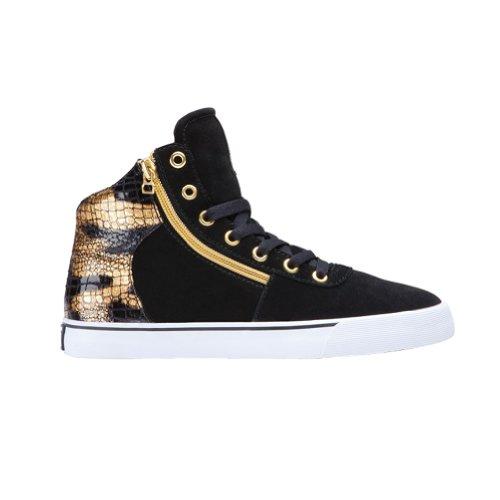 Supra Cuttler - Zapatillas deportivas para mujer, Negro (Negro ), 35.5 EU